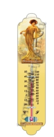 thermometer metaal champagne pommery