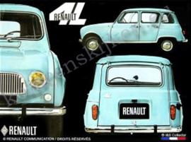 fridgemagnet Renault 4 L