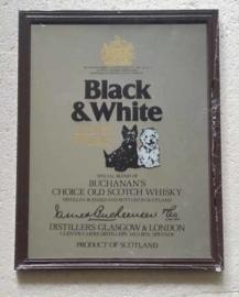 Black & White barspiegel