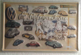 VW die fünfziger jahre 20x30 cm