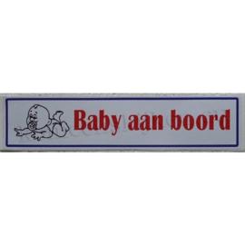 sticker baby aan boord 24 cm
