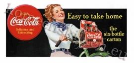 fridge magnet magneet coca cola fiets
