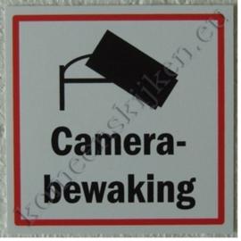 sticker camerabewaking 10,5 cm