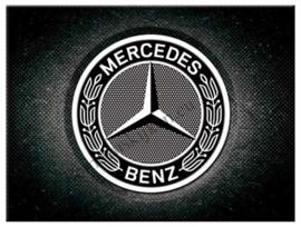 koelkastmagneet Mercedes Benz logo