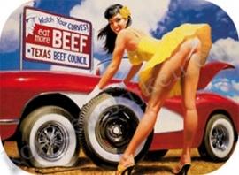metalen pepermuntdoosje beef / corvette