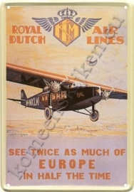 KLM Europa 20-30 cm