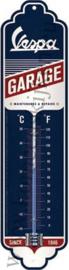 blikken thermometer Vespa garage