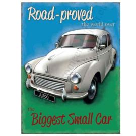 metalen muurbord road proved Morris 30x40 cm