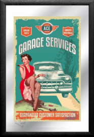 spiegel garage services / pin up