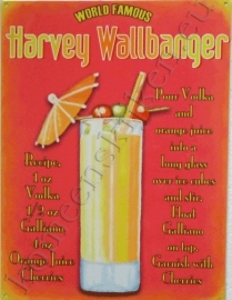 blikken wandplaat harvey wallbanger 30-40 cm