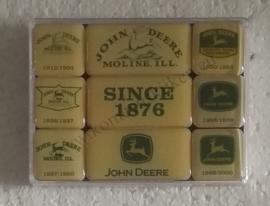 magneetset John Deere logo`s