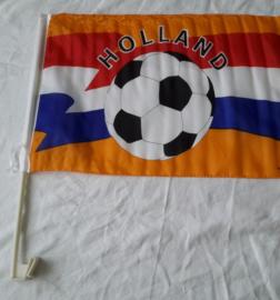 oranje holland raamvlag voor de auto