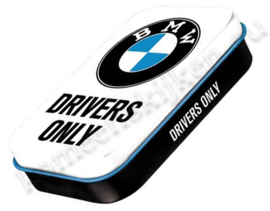 metalen-pepermuntdoosje XL BMW Drivers-Only