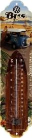 blikken thermometer VW surfbus