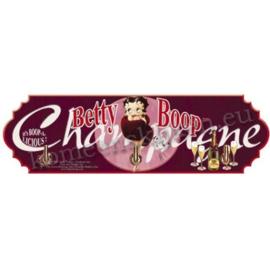 handdoekenhaakjes  Betty Boop paars