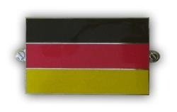 metalen duitse vlag