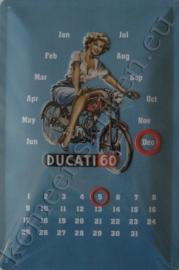 eeuwigdurende kalender ducati 60cc 20-30 cm