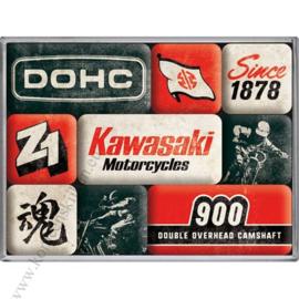 magneetset Kawasaki motorcycles
