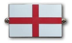 metalen vlag Engeland / st george
