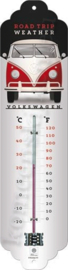 Metalen thermometer volkswagen T1 road trip wheater