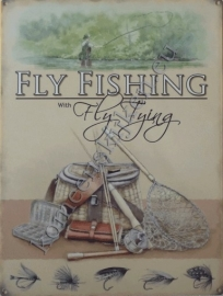 koelkast magneet fly fishing