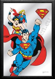 muur spiegel superman
