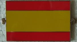 metalen spaanse vlag