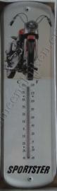 metalen thermometer harley davidson sportster 43 cm.