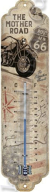 metalen thermometer Route 66 Bike Map Harley Davidson