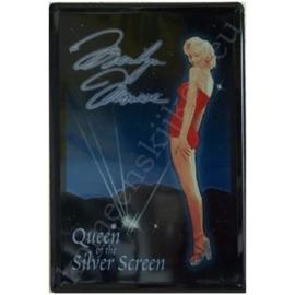 wandplaat marilyn Queen of the silver screen 20-30 cm