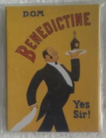 koelkastmagneet Benedictine