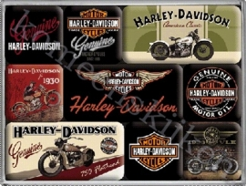 magneetset best Harley davidson bikes
