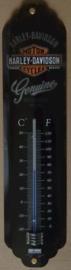 metalen thermometer harley davidson genuine