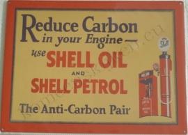 Metalen wandplaat shell reduce carbon 30-40 cm