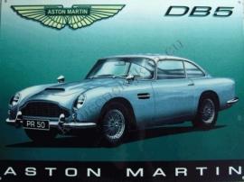 metalen wandplaat aston martin DB5 30-40 cm.