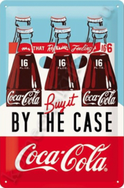 wandbord Coca-Cola Buy it by the case 20-30 cm