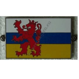 metalen vlag provincie Limburg