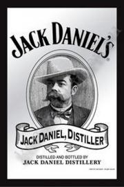 barspiegel jack daniel's distillery