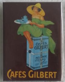 koelkastmagneet Cafes Gilbert