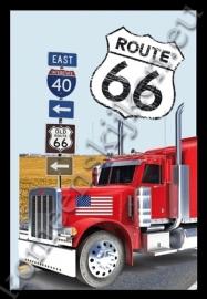 reclamespiegel route 66 truck