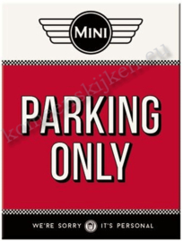 koelkast magneet mini parking only