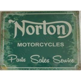 metalen wandplaat norton parts sales service 30-40 cm