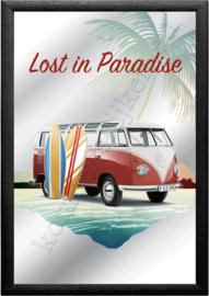 spiegel volkswagen bus T1 lost in paradise samba