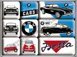 magneetset bmw vintage cars