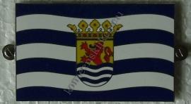 metalen vlag provincie zeeland
