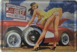 koelkast magneet beef / corvette