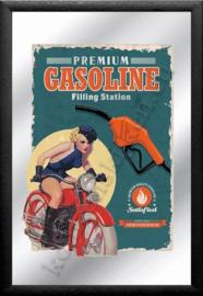spiegel premium gasoline filling station