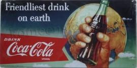 coca cola wereldbol 25-49,5 cm