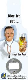 flesopener bier ist gut 10,5 cm