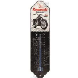 blikken thermometer Kawasaki motorcycles